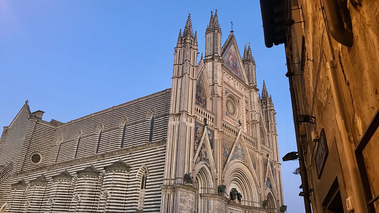 The beautiful Cathedral of Orvieto