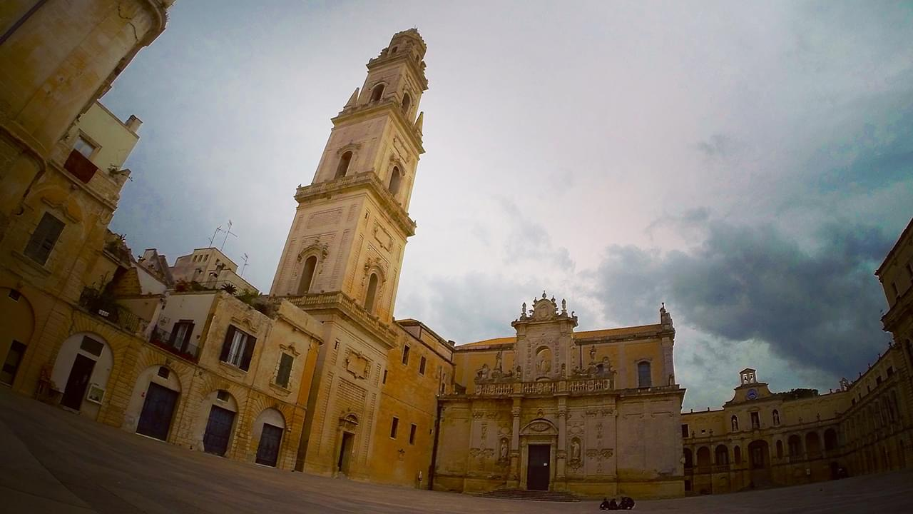 The outstanding baroque town of Lecce