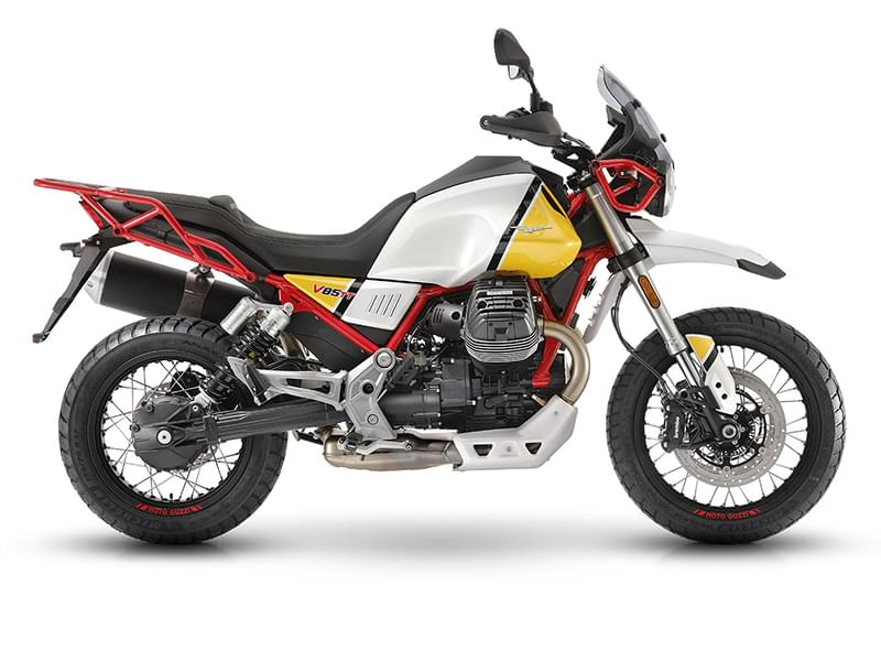 Moto Guzzi V85TT Motorcycle Tours Italy