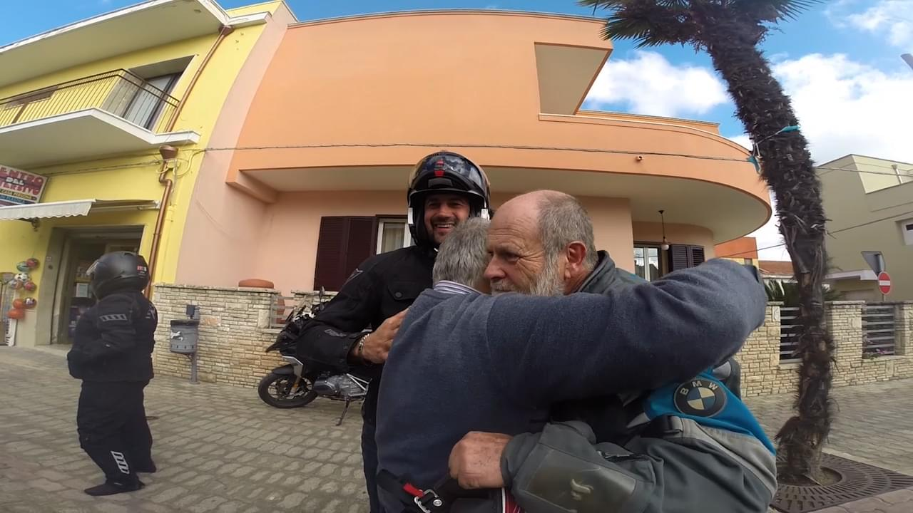 Make new friend when you ride in Italy