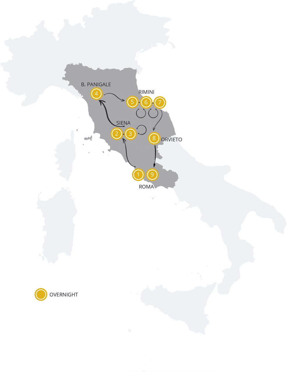 Mugello MotoGP_Map_Motorcycle ours Italy