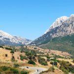 A beautiful desolate road in Sardinia