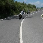 Ride Raticosa pass where Ducati test the new models