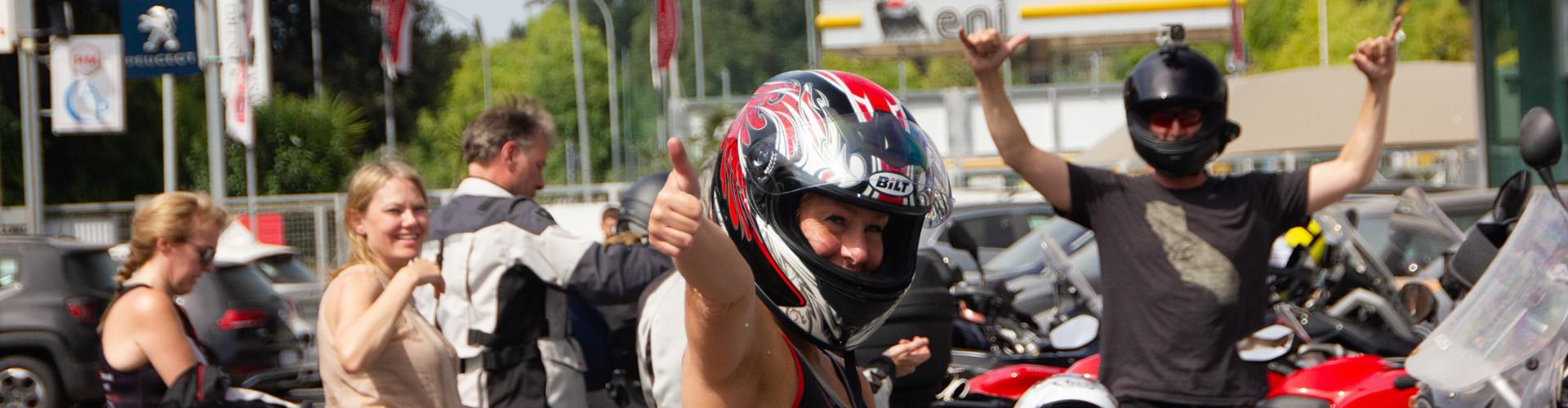Riders happy with Hear The Road