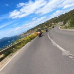 Sardinia offers lot of coastline roads to ride