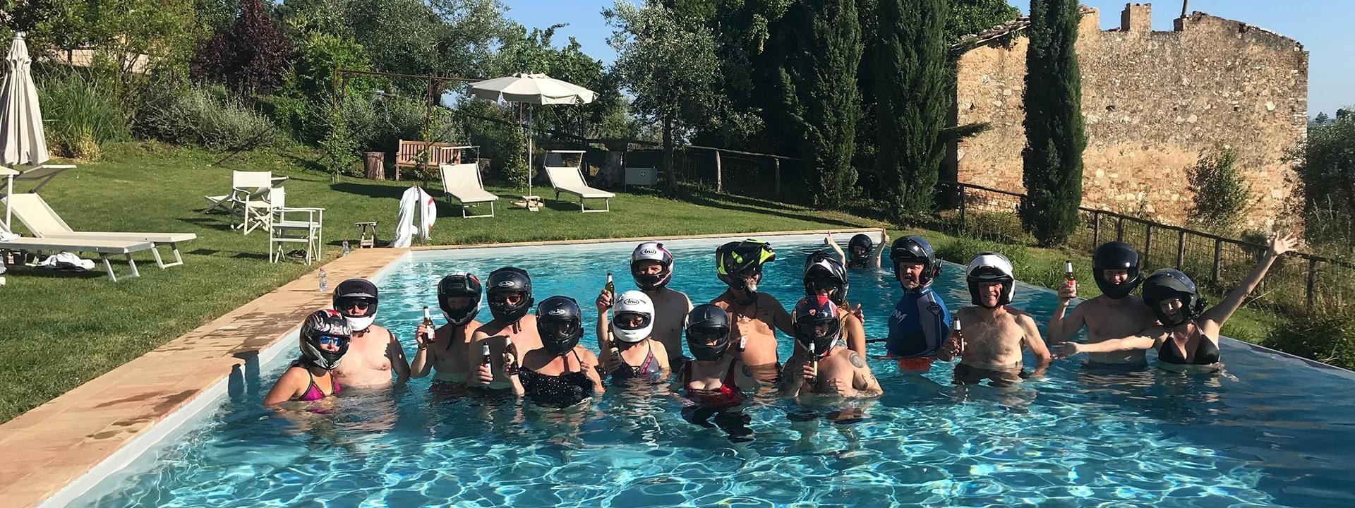 have fun in Tuscan resort