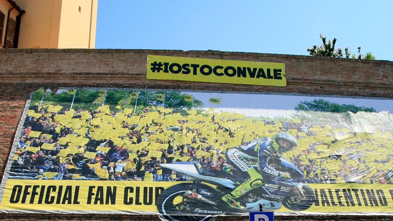 Tavullia is the hometown of the great Valentino Rossi