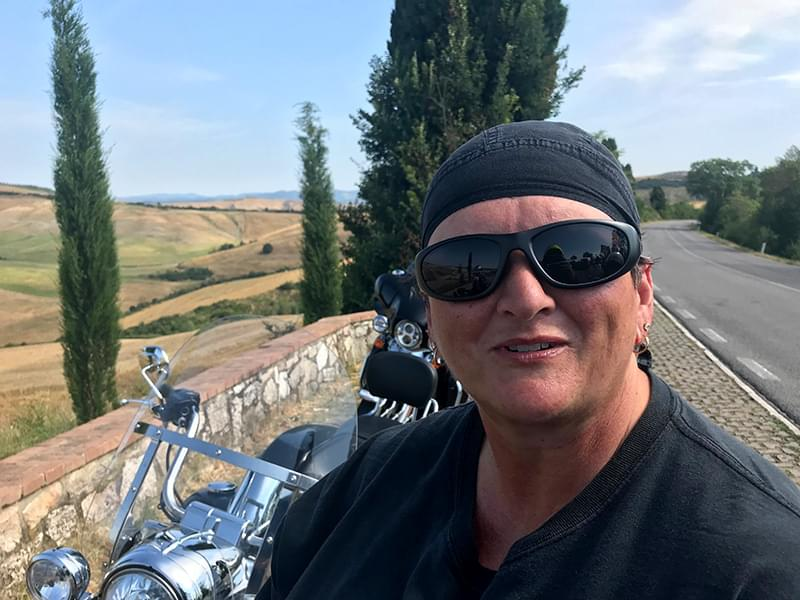 ride the stunning Tuscany hills with Hear The Road