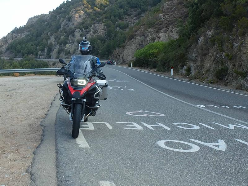 Riding Sardinia with Hear The Road