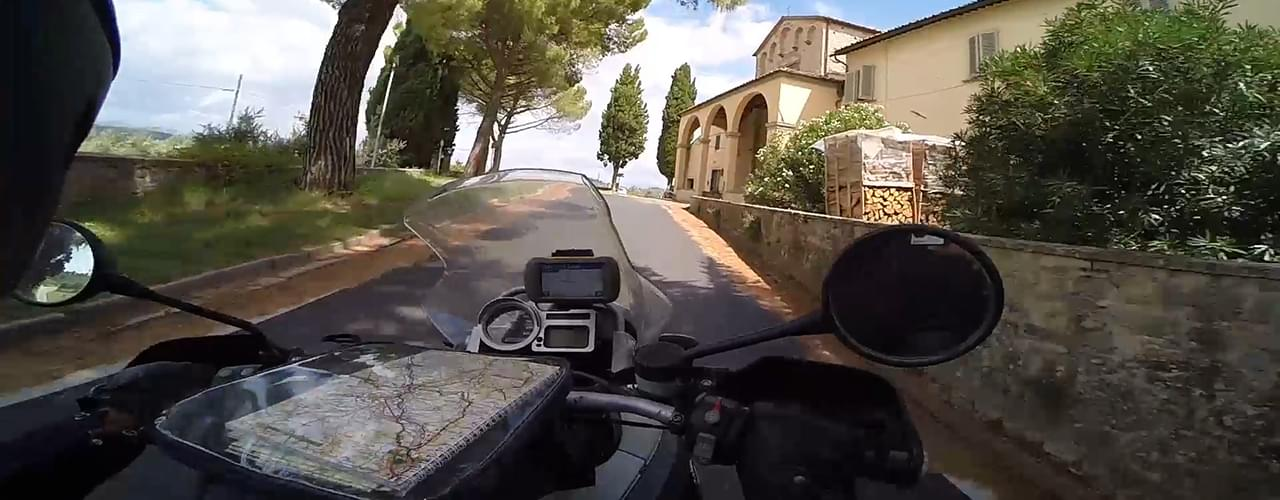 Motorcycle Self Guid Tours in Italy