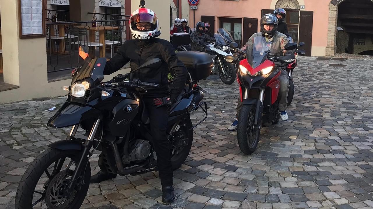 Riders are ready to go for another great ride in Italy